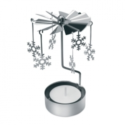 Świąteczna dekoracja ze świecz