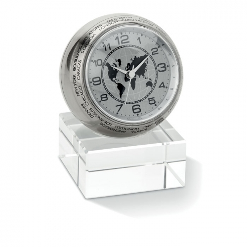 Analogowy zegar biurkowy