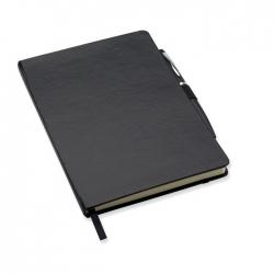 Notatnik formatu a5 z długopis