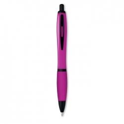 Kolorowy długopis z czarnym wy