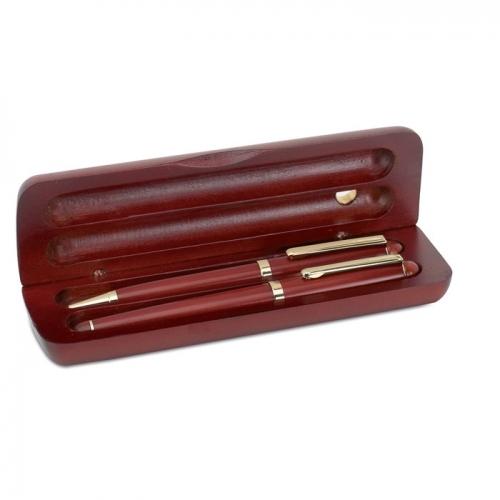 Długopis i pióro z drewna