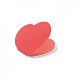 Notes samoprzylepny serce