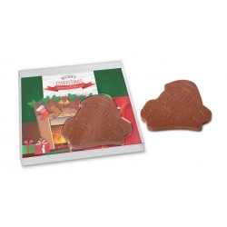 Choco box santa