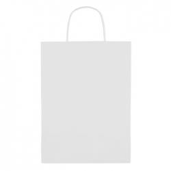 Paprierowa torebka ozdobna duż