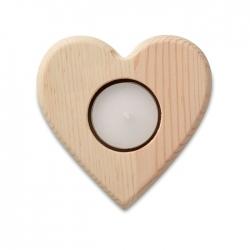 Świecznik serce