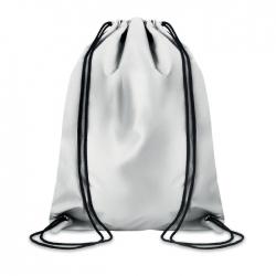 Odblaskowy plecak ze sznurkiem
