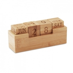 Kalendarz bambusowy
