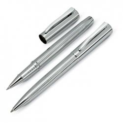 Metalowy długopis i cienkopis