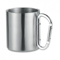 Metalowy kubek