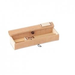 Bambusowy zestaw piśmienny