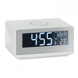 Zegar/bezprzewodowa ładowarka