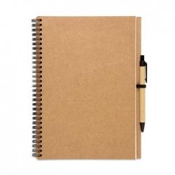Notes z długopisem
