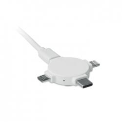 Adapter do kabli 3 w 1