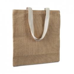 Jutowa torba na zakupy