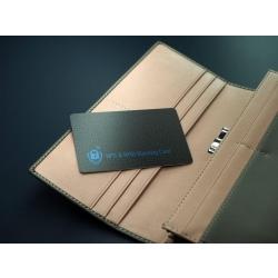 Karta blokująca sygnały NFC i RFID