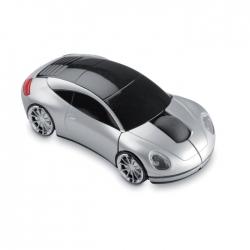 Bezprzewodowa mysz, samochód