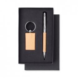 Zestaw - brelok i długopis