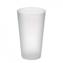 Frosted pp cup 550 ml