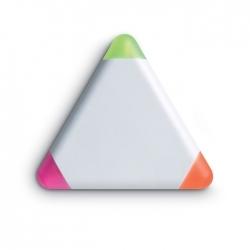 Trójkątny zakreślacz, 3 kolory