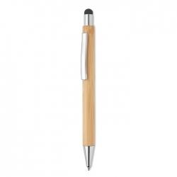 Długopis bambusowy z rysikiem