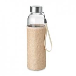 Szklana butelka w etui 500ml