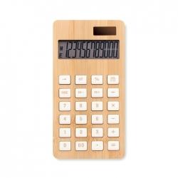 12-cyfrowy kalkulator, bambus