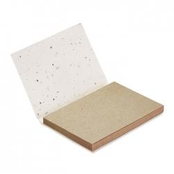 Zestaw kartek z nasionami
