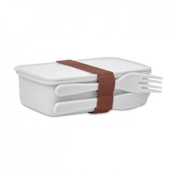 Lunchbox ze sztućcami