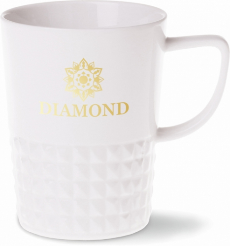 Kubek DIAMOND | biały