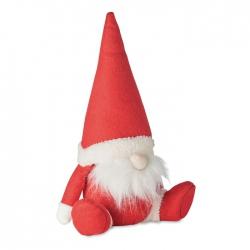 Świąteczny krasnal, filc rpet