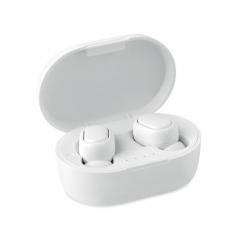 Słuchawki tws z abs, recykling