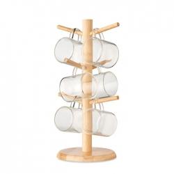 Zestaw kubków ze stojakiem