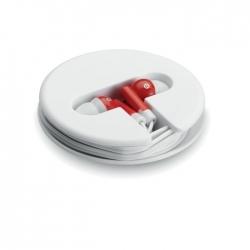 Słuchawki w silikonowym pudełk