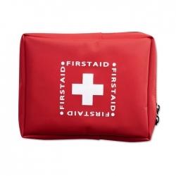 Zestaw pierwszej pomocy.