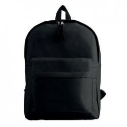 Plecak z zewnętrzną kieszenią