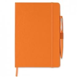 Notes a5 z długopisem