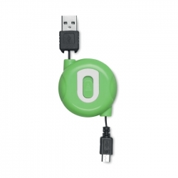 Kabel usb-mikrousb zwijany