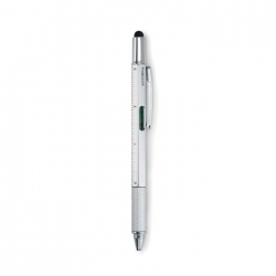 Długopis poziomica z linijką
