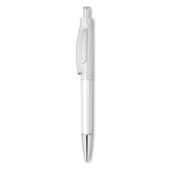 Przyciskany długopis w przezro