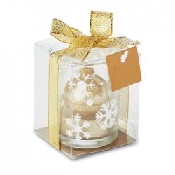 Szklany świecznik tea light
