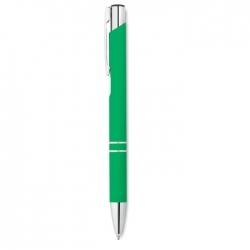 Długopis z gumowym wykończenie