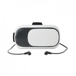Okulary 3d z abs ze słuchawkami