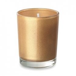 Mała szklana świeca