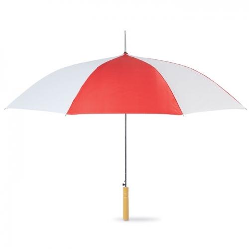 Dwukolorowy parasol