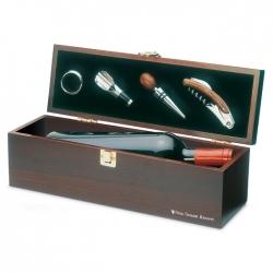 Drewniane pudełko na wino