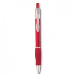 Długopis z gumowym uchwytem