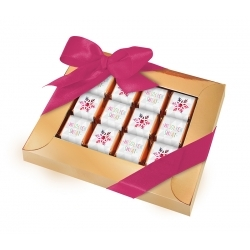 Ramka na 4 kwadratowe czekoladki z klapką na dzień kobiet