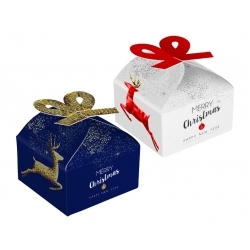 Pudełko serce na 4 czekoladki