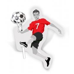 Lizak z piłkarzem